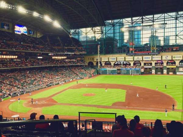 Minute Maid Park, section: 226, row: 7, seat: 1