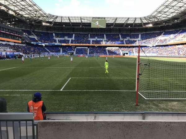 Red Bull Arena, section: 101, row: 3, seat: 30
