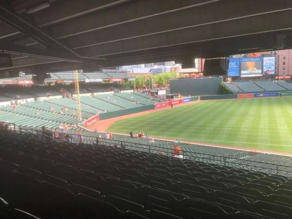 Oriole Park at Camden Yards, section: 61, row: 11, seat: 5