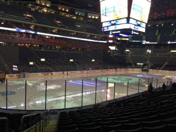 Nationwide Arena, section: 106, row: Q, seat: 20