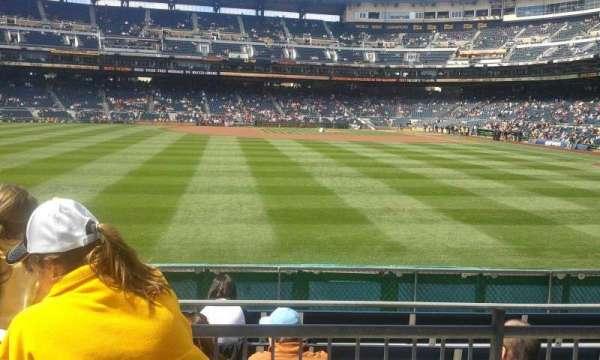 PNC Park, section: SR, row: Left, seat: Field