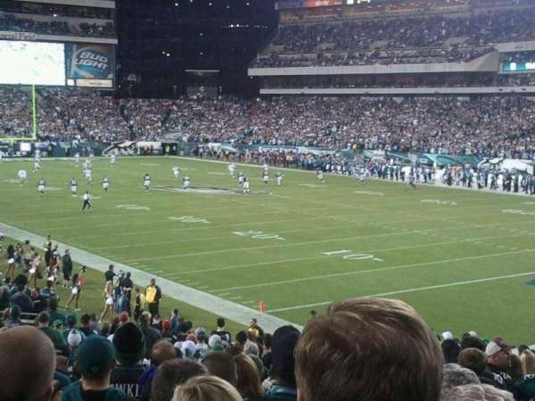 Lincoln Financial Field, section: 126, row: 26, seat: 9