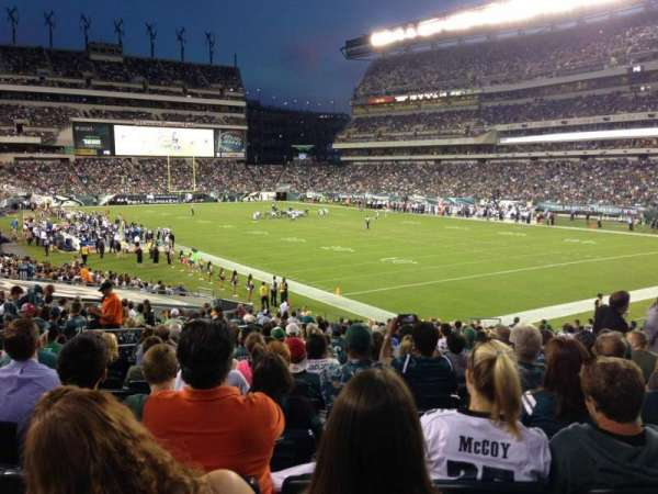 Lincoln Financial Field, section: 126, row: 26