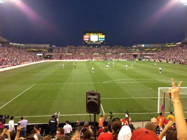 Historic Crew Stadium, section: NBL, row: 8, seat: 1