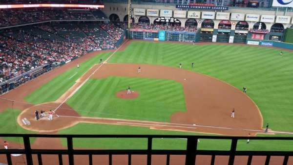 Minute Maid Park, section: 325, row: 2, seat: 3