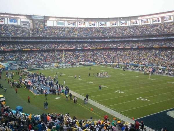 SDCCU Stadium, section: P46, row: 1, seat: 7