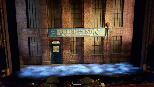 Al Hirschfeld Theatre, section: Mezz C, row: A, seat: 109