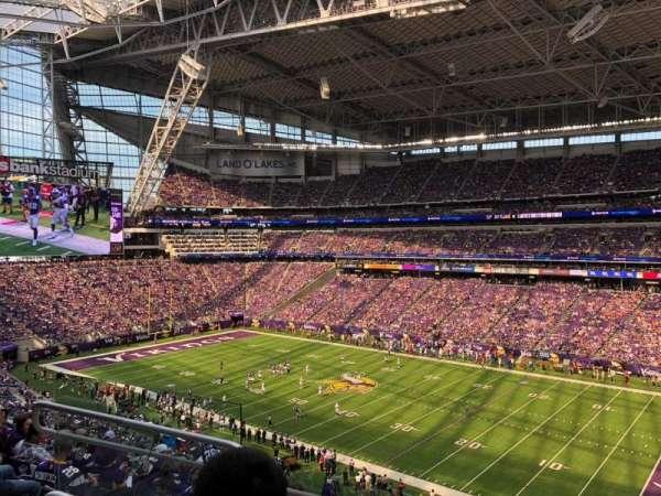 U.S. Bank Stadium, section: 229, row: 9, seat: 13