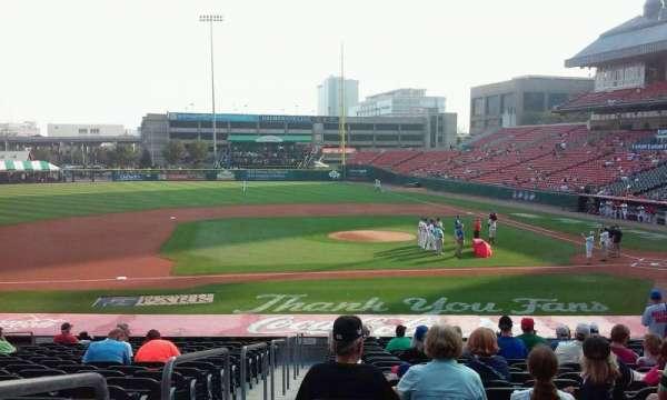 Sahlen Field, section: 111, row: U, seat: 18
