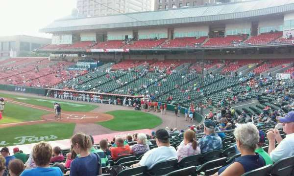 Coca-Cola Field, section: 111, row: U, seat: 18