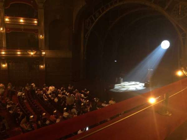 Lyric Theatre, section: Dress Circle R, row: A, seat: 26