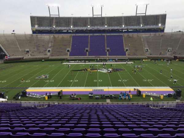 Dowdy-Ficklen Stadium, section: 6, row: OO, seat: 15