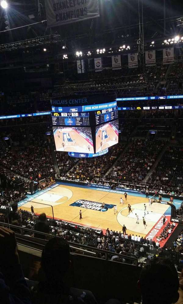 Barclays Center, section: 205, row: 10, seat: 10
