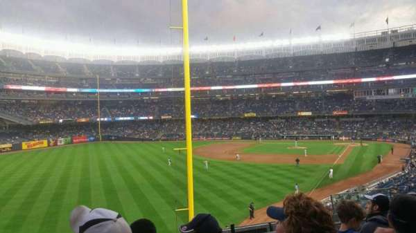 Yankee Stadium, section: 232b, row: 6, seat: 8