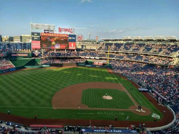 Nationals Park, section: 408, row: A, seat: 21