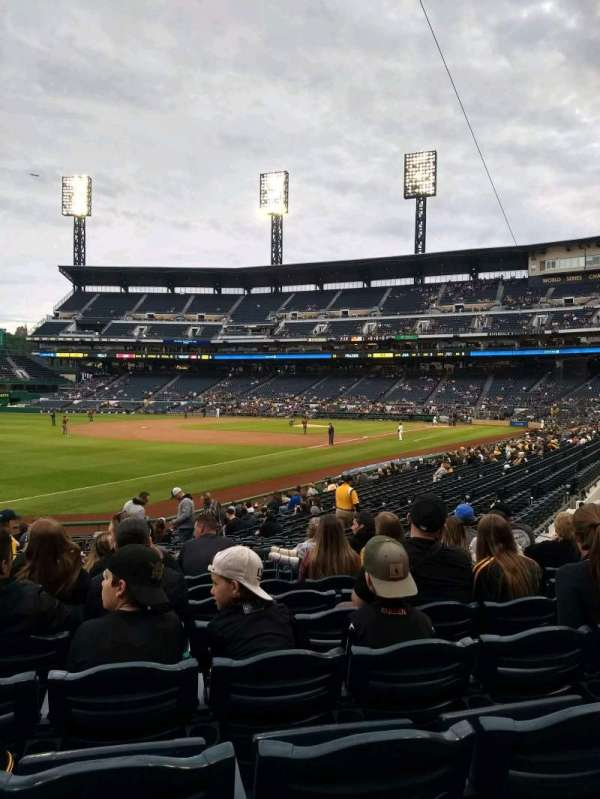 PNC Park, section: 130, row: H, seat: 12