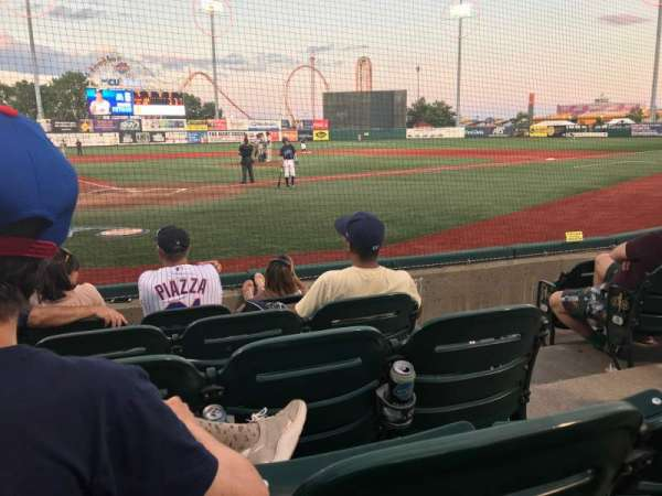 MCU Park, section: 4, row: E, seat: 8