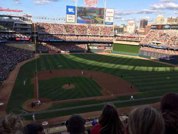 Target Field, section: 211, row: 3, seat: 11