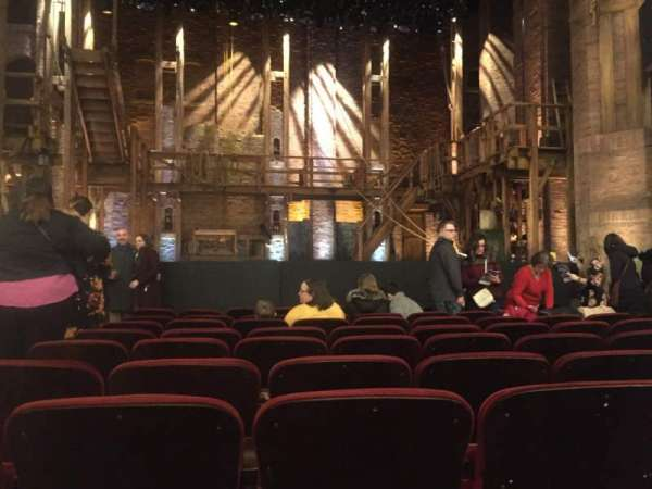 CIBC Theatre, section: Orchestra C, row: K, seat: 103