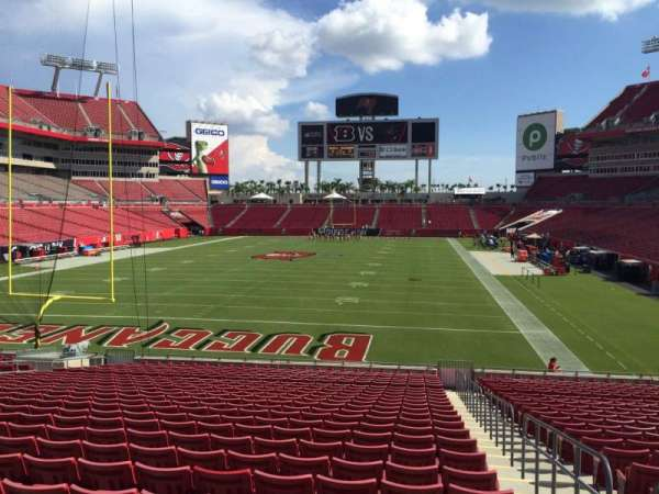 Raymond James Stadium, section: 149, row: Cc, seat: 24