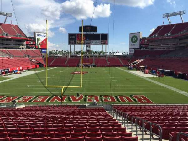 Raymond James Stadium, section: 148, row: Cc, seat: 20