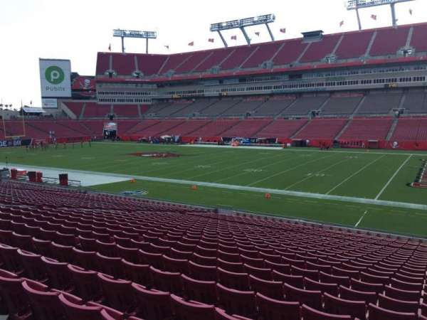 Raymond James Stadium, section: 139, row: Cc, seat: 24