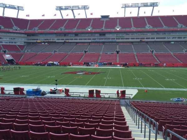 Raymond James Stadium, section: 136, row: Cc, seat: 24