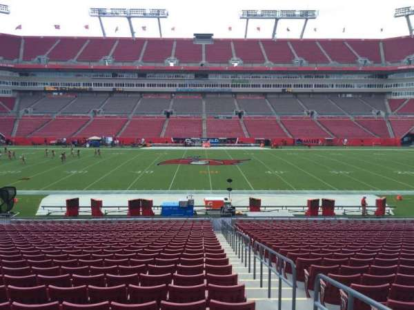 Raymond James Stadium, section: 135, row: Cc, seat: 24