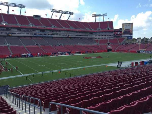 Raymond James Stadium, section: 131, row: Cc, seat: 24