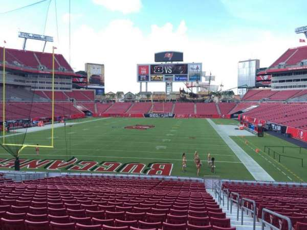 Raymond James Stadium, section: 124, row: Cc, seat: 24