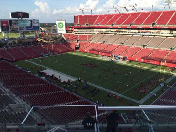 Raymond James Stadium, section: 317, row: E, seat: 24
