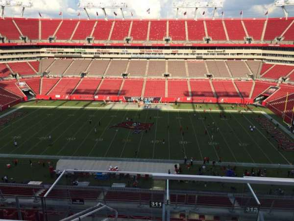 Raymond James Stadium, section: 311, row: E, seat: 24