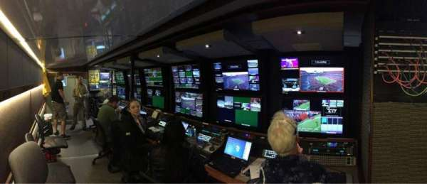 Raymond James Stadium, section: Control Truck