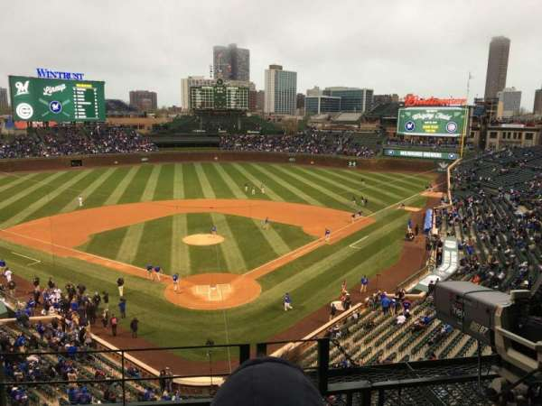 Wrigley Field, section: 421, row: 3, seat: 105