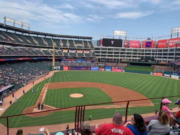 Globe Life Park in Arlington, section: 231, row: 4, seat: 5