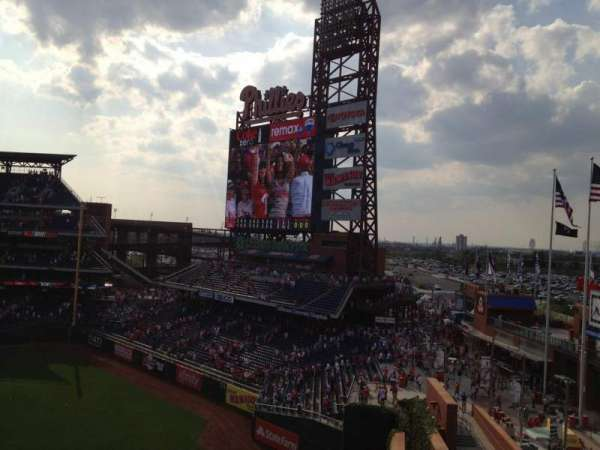 Citizens Bank Park, section: 301, row: 1, seat: 1
