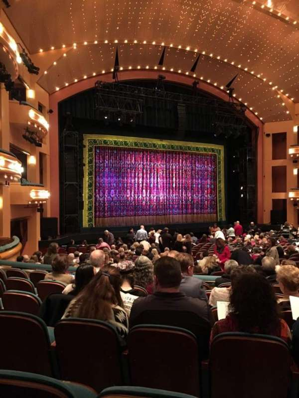 Procter And Gamble Hall at the Aronoff Center, section: Rear Orchestra L, row: V, seat: 106