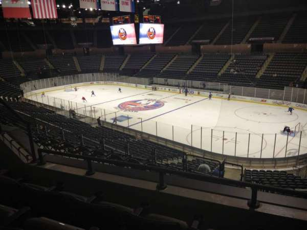 Nassau Veterans Memorial Coliseum, section: 239, row: 3, seat: 4