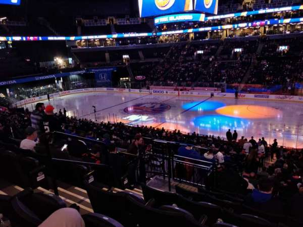 Barclays Center, section: 122, row: 8, seat: 5