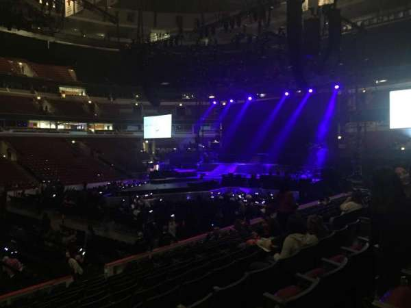 United Center, section: 101, row: 13, seat: 9