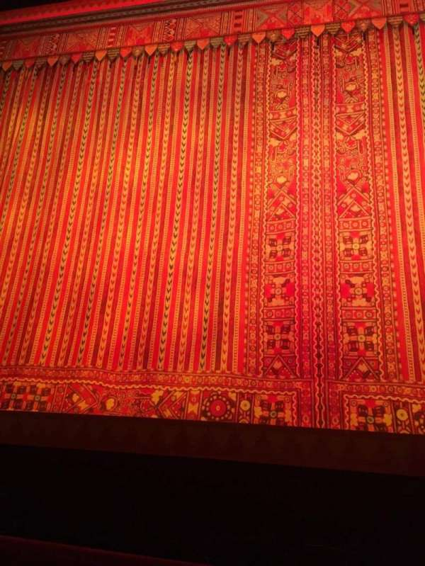 Cadillac Palace Theater, section: Orchestra C, row: A, seat: 110