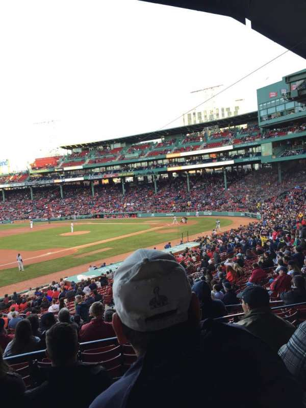 Fenway Park, section: Grandstand 29, row: 5, seat: 15