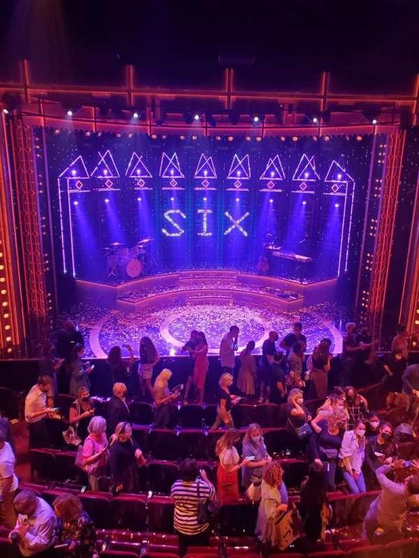 Brooks Atkinson Theatre, section: Front Mezzanine C, row: A, seat: 105