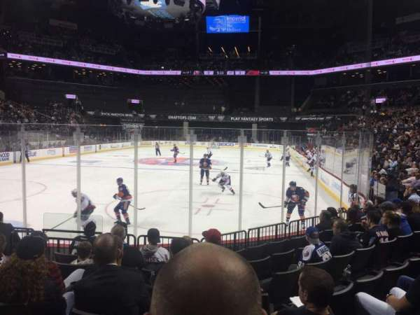 Barclays Center, section: 15, row: 8, seat: 3