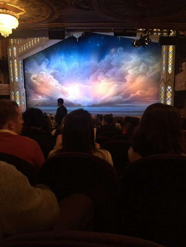 Eugene O'Neill Theatre, section: Orchestra R, row: R, seat: 14