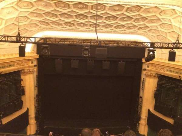 Hudson Theatre, section: Balcony, row: E, seat: 107