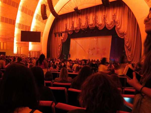 Radio City Music Hall, section: Orchestra 2, row: A, seat: 205