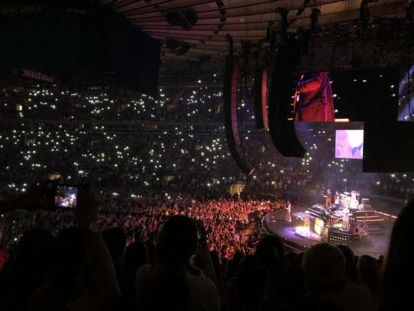 Madison Square Garden, section: 109, row: 21, seat: 10