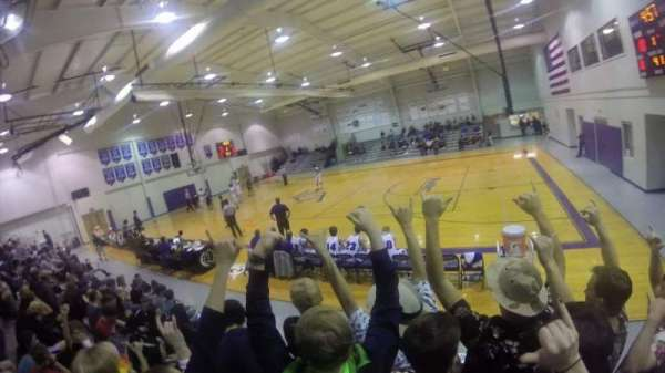 Prattville Christian Academy Gymnasium, section: Student Section