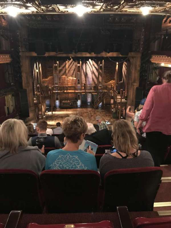 CIBC Theatre, section: Mezzanine LC, row: J, seat: 303